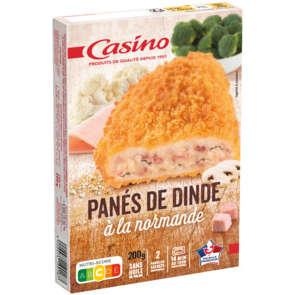 Panés de dinde - Cordon bleu - A la Normande