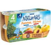 Nestlé Nestle Naturnes - Bol - Pommes Pêches - Dès 4-6 Mois - 4
