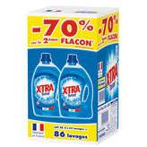 lessive liquide xtra total 3.01lx2 le 2eme a -70%