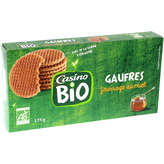 CASINO Gaufres au miel - Biologique 175g