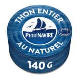 Petit Navire Thon Au Naturel - Issu De Pêche Responsable - 140g