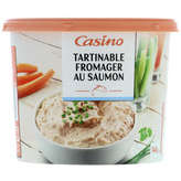 Tartinable fromager au saumon