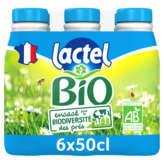 Lactel Lait - Demi-écrémé - Biologique - 6