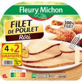 Fleury Michon FLEURY MICHON Filet de Poulet - Rôti - 180g