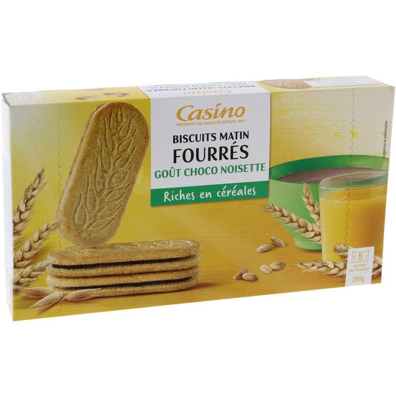 Biscuit Matin - Fourrés - Gout chocolat noisettes