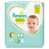 Pampers Premium Protection - Couches - Taille 4 - X