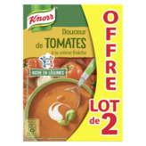 Knorr Soupe - Tomates Et Crème Fraîche - 2x1l