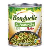 Bonduelle à poêler la printanière haricots verts petits pois doux flageolets . . . - ( Prix Unitaire ) - Envoi...