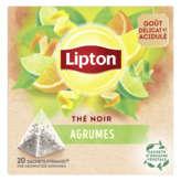 Lipton LIPTON Thé agrumes - x20