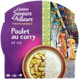 Recette indienne - Poulet au curry et riz basmati 300g