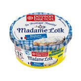 le fromage fouetté de madame loïk nature au sel de guérande paysan breton 180g offre découverte