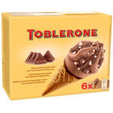 Toblerone Cones De Glace - Goût Chocolat-miel - X