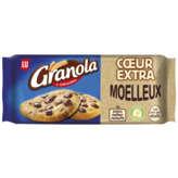 LU GRANOLA Cookie - Cœur extra - Chocolat - Gouter enfant - 182g