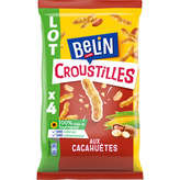 Belin BELIN Croustille cacahuète - 4x138g