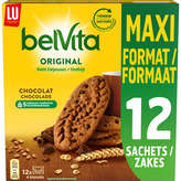 LU BELVITA Petit déjeuner - Biscuit Chocolat - 5 céréales - Max... - 600g