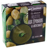 CASINO Recette gourmande - Velouté - Epinards et a