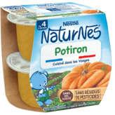 Nestlé Nestle Naturnes - Bol - Potiron - Dès 4-6 Mois - 2x130g
