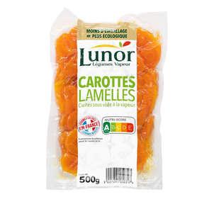 Légumes vapeur - Carottes en rondelles